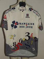 Bike Cycling Jersey Shirt Maillot Cyclism Team Fdj Francaise Des Jeux Size Xl