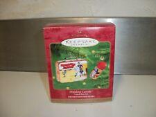 2000 Hallmark Keepsake Hopalong Cassidy Lunch Box Set Xmas Ornament Thermos