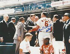 "Stan Musial ""HOF 69"" Signed 11x14 Autographed Baseball Photo w/ JFK (STM COA)"