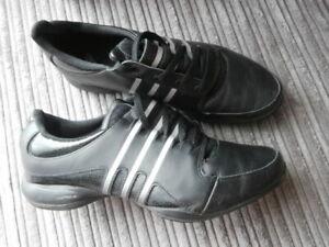 Ladies Adidas Adiprene Running shoe Black Trainers Size UK  7