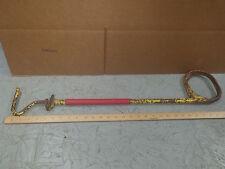 Vintage pig catcher hog holder snare cable noose. hog ring ,snoot snare