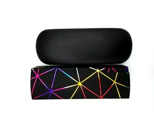 Sunglasses Eye Glasses Case Eyewear Protector Box + cleaning cloth