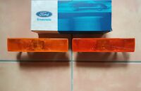 Ford SIERRA MK1 Blinker Blinkersatz rechts & links BLINKER LIGHT LAMP SET NOS