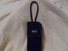 HANDY NINE WEST BLACK WRISTLET PURSE PHONE HOLDER GLASSES ID COINS CARRIER CASE