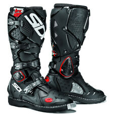SIDI 2016 MX Crossfire 2 Stitched Sole Euro Dirt Bike Black Motocross BOOTS