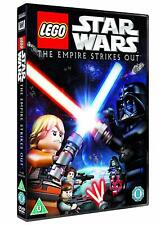 Lego Star Wars The Empire Strikes Out NEW & SEALED Region 2  (DVD, 2013)