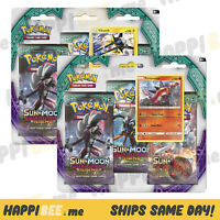 Pokemon SUN & MOON(Guardians Rising)Blister Booster Packs🍯TCG Trading Card FOIL