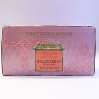 UK Fortnum and Mason Fortnum's Famous Tea Black Tea with Strawberry 25 Tea Bags