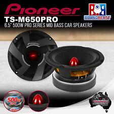 """Pioneer TS-M650PRO 6.5"""" 500W PRO Series Mid-Bass Driver Speaker"""