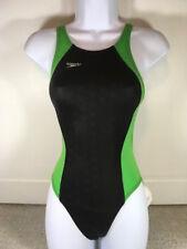 NWT Speedo FASTSKIN FSII Record Breaker Size 30 Green and Black