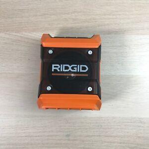 RIDGID 18v Cordless Mini Bluetooth Radio (Tool Only) R84086