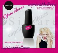 BASE e TOP COAT 2in1 Gel Base One Secure IT 15g - SILCARE - ricostruzione unghie