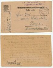 13241 - Feldpostkarte nach Prag - K.u.K. Feldpostamt 140 - 13.5.1916