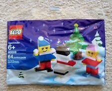LEGO Holiday Christmas - 40008 Snowman Building Set - New & Sealed