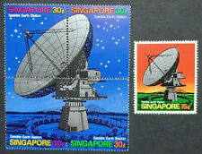 SINGAPORE 1971 SATELLITE SG 160 -161a MNH OG