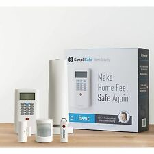 SimpliSafe Home Security System 5 Piece Basic NEW IN BOX Free Shipping!