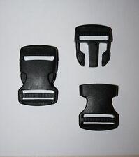 38mm Black Plastic Side Release Buckle