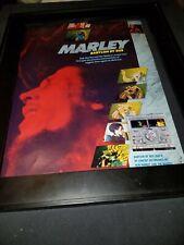Bob Marley Babylon By Bus Rare Original Promo Poster Ad Framed! #2