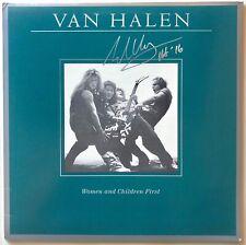 Eddie Van Halen Autographed Album signed. Women Children Beckett BAS COA
