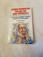 1992 George Washington Was Not the First President by Jean Waricha Paperback