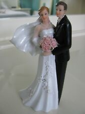 Elegant Bride Groom Wedding Cake Topper gift