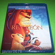 EL REY LEON CLASICO DISNEY NUMERO 32 COMBO BLU-RAY + DVD NUEVO Y PRECINTADO