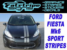 Nuevo Ford Fiesta Mk 6 St Zetec S Car gráficos Rayas Stickers Calcomanías Sport 16v D