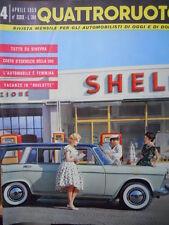 Quattroruote n°4 1959 - Costo d'esercizio della FIAT 500  [Q79]