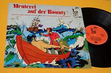 MEUTERI AUF DER BOUNTY LP ACRONYMES DESSINS ANIMÉS BANDES DESSINÉES ORIG GERMANY