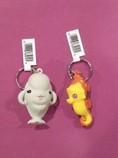Funko Figural Keyrings FINDING DORY Keychains BAILEY & SHELDON Pixar Movie rings