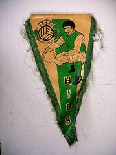 sport foot ancien fanion vers 1980 HIBERNIAN HIBS ECOSSE