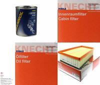 MAHLE / KNECHT Inspektionspaket Filter Set SCT Motor Flush Motorspülung 11603859