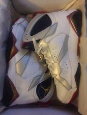 2004 Nike Air Jordan Retro VII 7 White Gold Navy True Olympic Size 11 304775-171