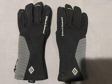 """Black Diamond Schoeller Switzerland Large Black Gloves """"Neoprene Like� Good Feel"""
