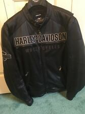 Harley Davidson Mens Horizon Leather Jacket 97192-14VM XL X Large
