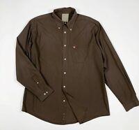 Murphy nye camicia uomo usato XXXL cotone a righe leggera shirts man used T5959