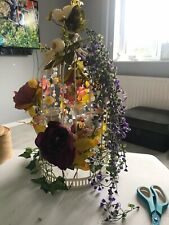 Bird Cage Table Decorations Wedding Table Centre Pieces X 7 + One on decorated