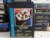 COMMODORES In The Pocket (8-Track Tape)