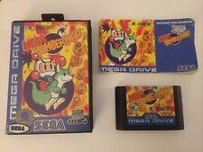 Sega Mega Drive Spiel Mega Bomberman CIB / OVP Sammlungsauflösung