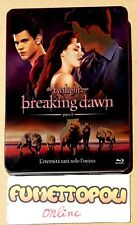 Twilight Breaking Dawn Parte 1 Blu-Ray Italiano Limited Metal Box Steelbook SC15