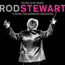 ROD STEWART YOU'RE IN MY HEART 2-CD (Royal Philharmonic Orc.) Release 22/11/2019