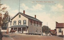 c.1910 Post Office Store Hope Valley RI post card