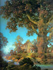 """"""" Morning Light"""" by Maxfield Parrish"""