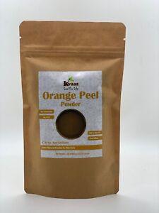 Orange Peel Powder for Skin Care - Kvaas (100 Gram)