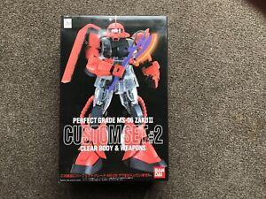 Bandai Gundam Perfect Grade MS-06 Zaku II Custom Set #2