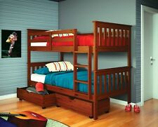 Bunk Beds for Kids with Underbed Storage