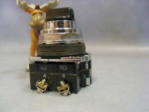 Cutler Hammer 3 Pos Maintained Turn Knob 10250T / 9100T CAM 3 Selector Switch