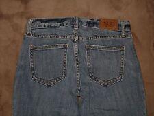 GAP Size 2R Original Long & Lean Flare Light Blue Stretch Denim Womens Jeans