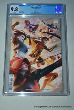 Teen Titans 31 Alex Garner Variant CGC 9.8 DC Comic Book!