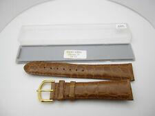 NOS Debeer Europa Alligator Grain Handcrafted Watch Wrist Band Strap (19mm) Z55